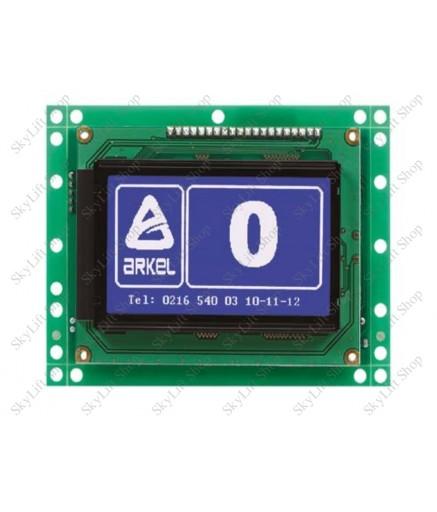 Плата контроля вызова кабины лифта ARKEL BC-LCD240128